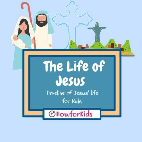 The Life of Jesus: Summary, Chronology and Story Told for Children