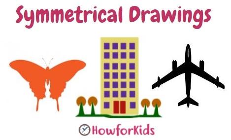 Symmetrical Drawings for Kids