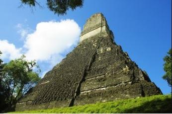 Mayan pyramid of Tikal