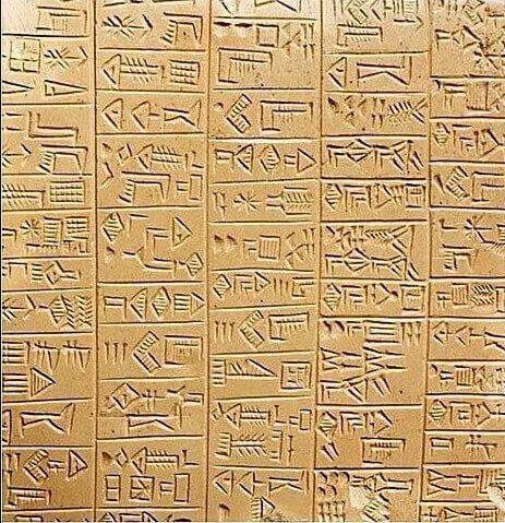 Cuneiform Tablet: Evolution of Writing